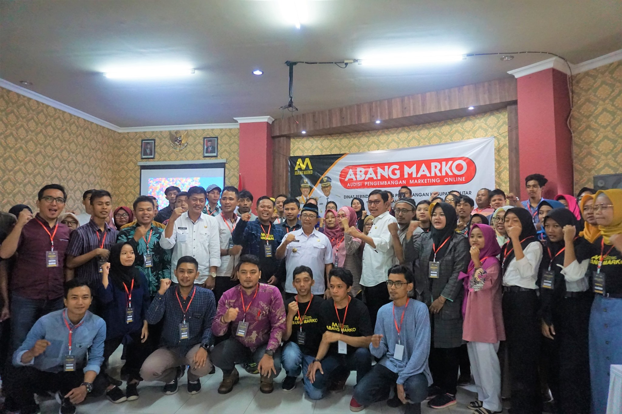 Audisi Pengembangan Marketing Online (ABANG MARKO) 2020