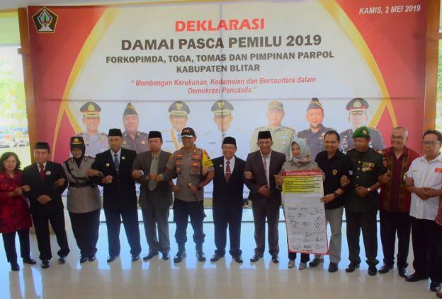 Deklarasi Damai Pasca Pemilu 2019