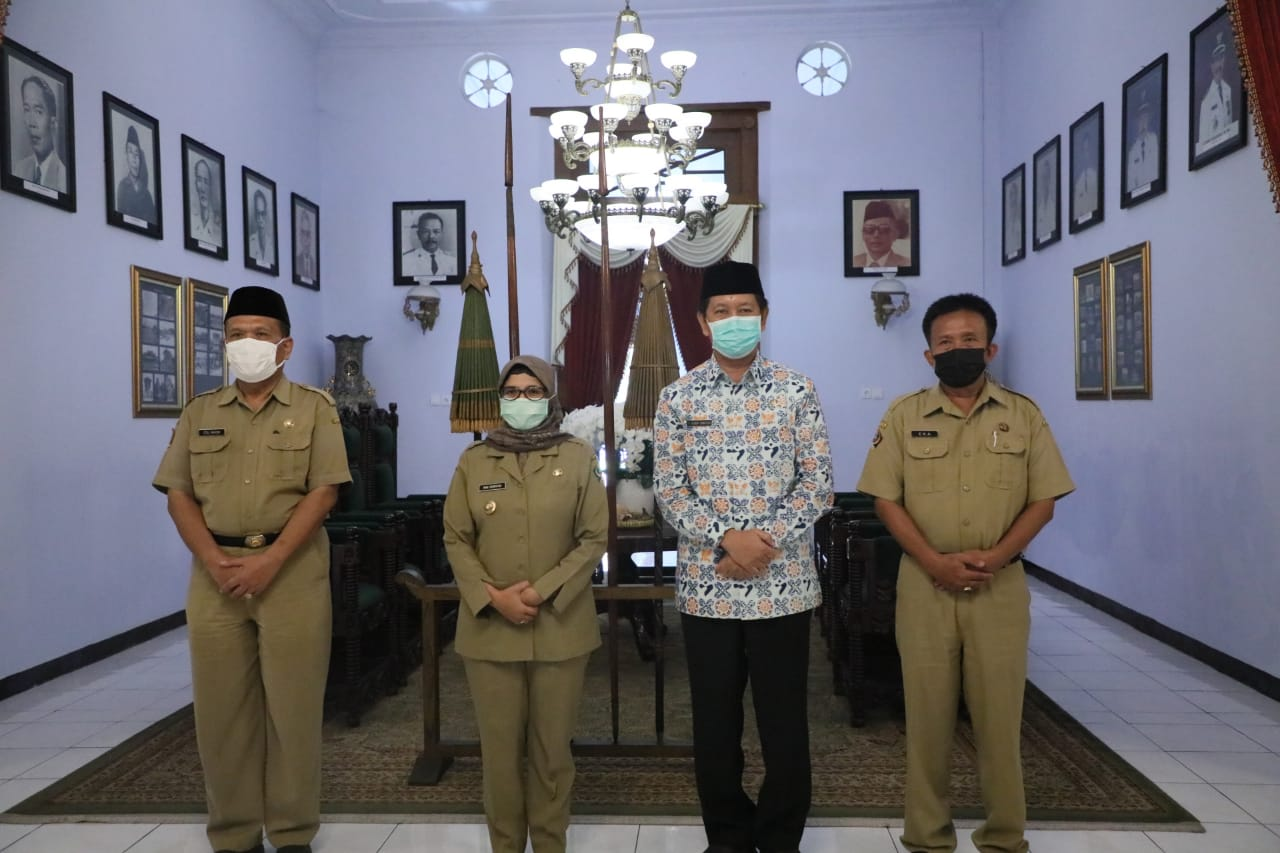 Kunjungan BKKBN Provinsi Jawa Timur