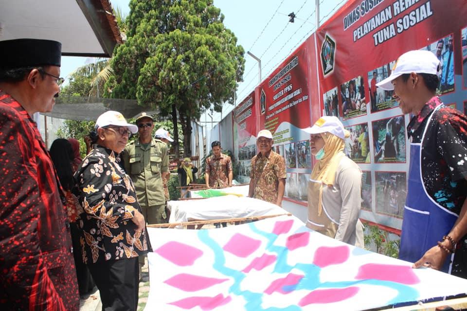 Pelatihan dan Launching Batik Ciprat Shelter PPK