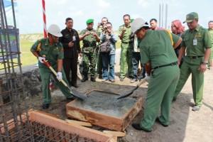 Peletakkan Batu Pertama Pembangunan Kantor Bupati Blitar