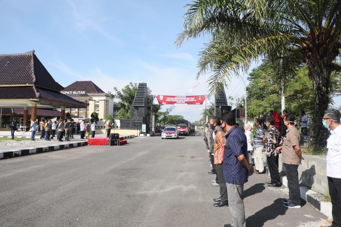 Pemkab Blitar Salurkan 20000 Paket Bantuan Pangan Provinsi Jawa Timur