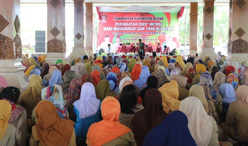 Pengajian Akbar peringatan Isro' Mi'roj Nabi Muhammad SAW 1440 H/2019