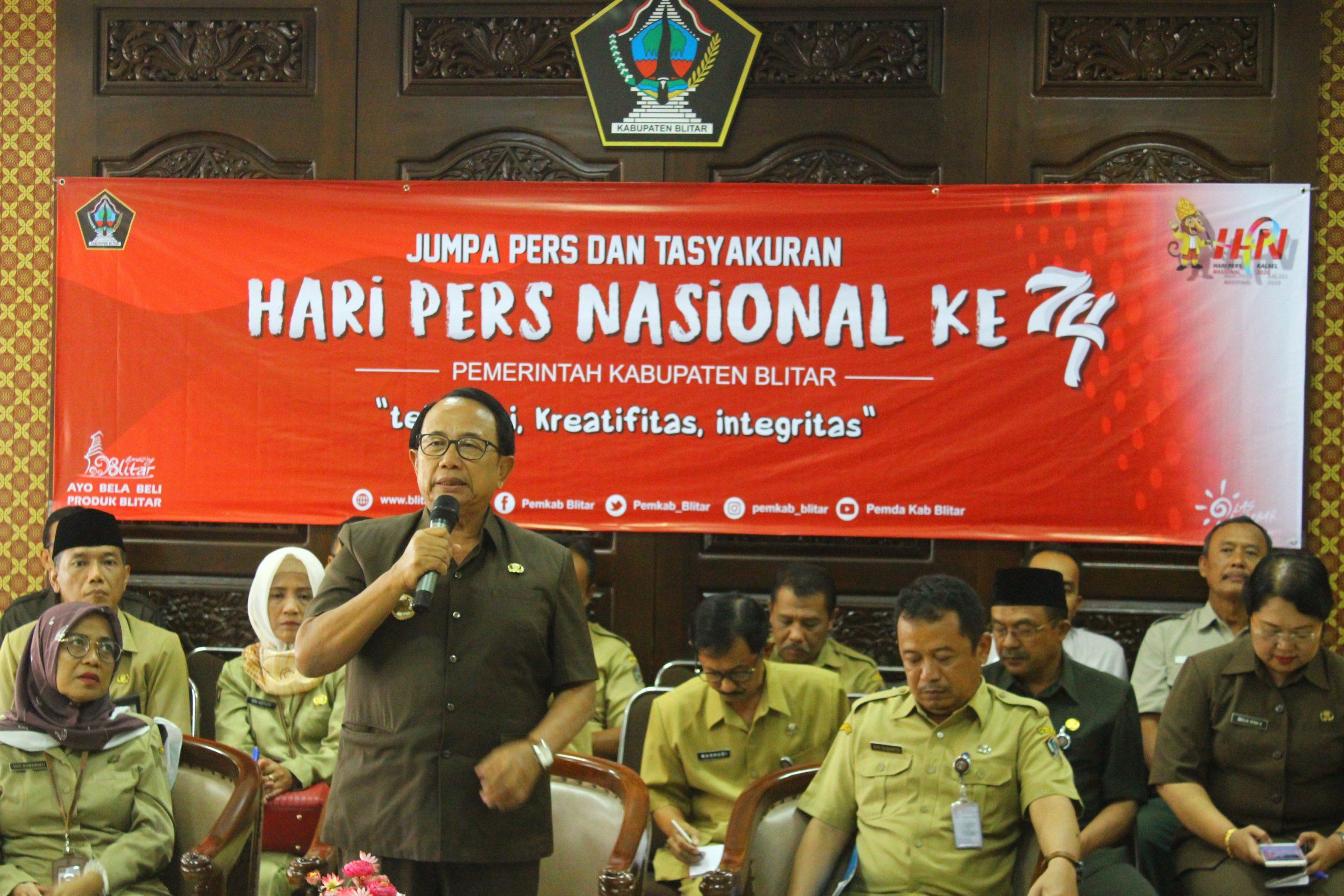 Memperingati Hari Pers Nasional (HPN) ke-74