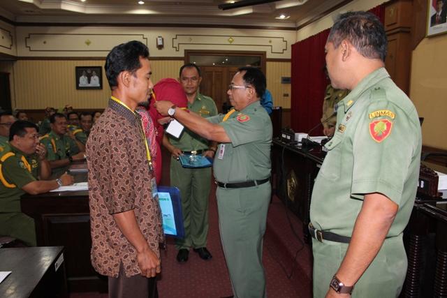 Rapat Kerja Daerah Program KKB-PK dan Launcing Pendataan Keluarga Badan Pemberdayaan Perempuan dan Keluarga Berencana Kabupaten Blitar Tahun 2015