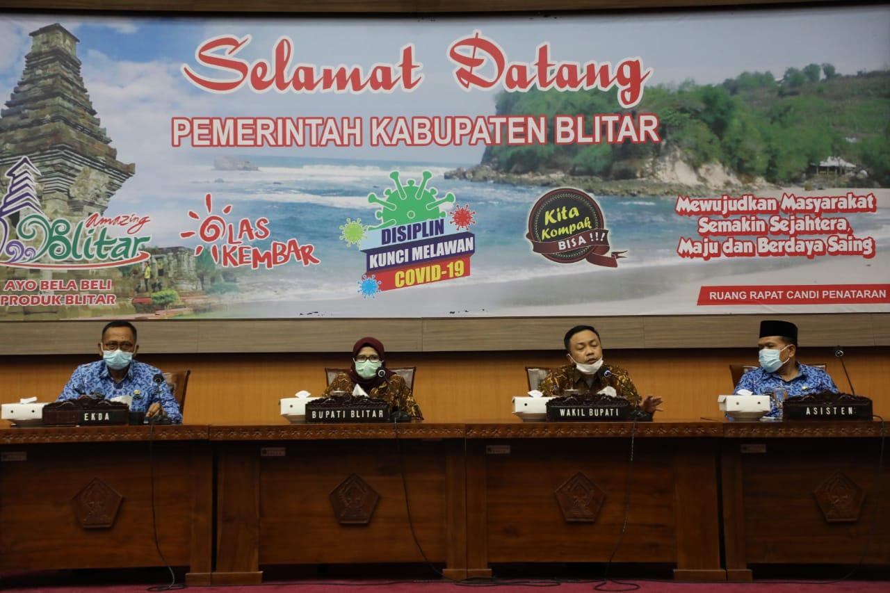 Pemkab Blitar Gelar Rapat Bersama Asosiasi Pemerintah Daerah (APD)