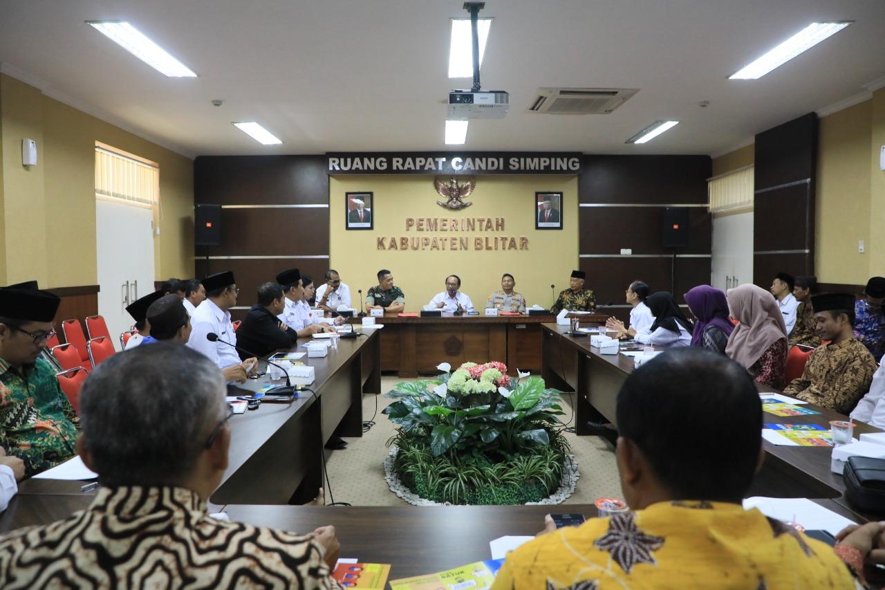 Pemkab Blitar Gelar Rapat Koordinasi Bersama FKUB