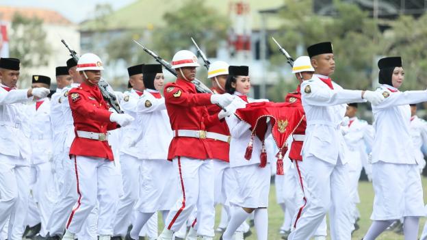 Upacara Detik-detik Proklamasi Republik Indonesia Ke- 74